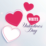 happy white valentine - v.a