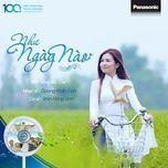 nhu ngay nao (single) - shin hong vinh