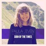 sign of the times (single) - paula jiven