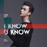 i know you know (single) - soobin hoang son