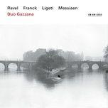 franck: sonata in a major for violin & piano, fwv 8, 1. allegretto ben moderato (single) - duo gazzana