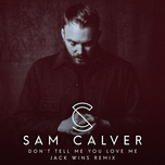 don't tell me you love me (jack wins remix) (single) - sam calver