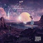 alien (dark heart remix) (single) - sabrina carpenter, jonas blue