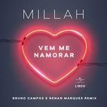 vem me namorar (remix) (single) - millah