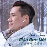 gian don mot hanh phuc (single) - khanh phuong