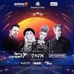 ravolution music festival 2018 - jay hardway, nervo, ferry corsten