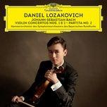 j.s. bach: violin concerto no.1 in a minor, bwv 1041, 1. allegro moderato (single) - daniel lozakovich