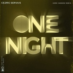 one night (gerd janson remix) (single) - cedric gervais