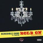 hold on (devastator remix) (single) - ncredible gang, sahyba