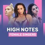 female singers high notes - v.a