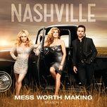 mess worth making (single) - nashville cast, aubrey peeples