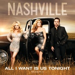 all i want is us tonight (single) - nashville cast, riley smith