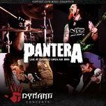 live at dynamo open air 1998 - pantera