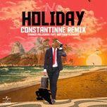 no holiday (constantinne remix) (single) - franco pellegrini, constantinne, matthew flowers