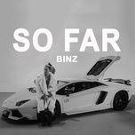 sofar (single) - binz