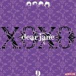 xoxo - dear jane