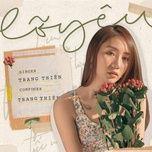lo yeu (single) - trang thien