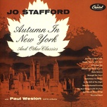 autumn in new york - jo stafford