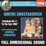 shostakovich: symphony no. 11 - leopold stokowski