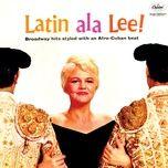 latin ala lee - peggy lee