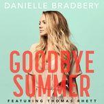 goodbye summer (single) - danielle bradbery, thomas rhett
