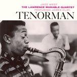 tenorman - lawrence marable quartet