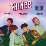 sunny side (japanese single) - shinee