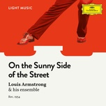 on the sunny side of the street (single) - louis armstrong and his orchestra