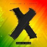 x (spanglish version) (single) - nicky jam, j balvin