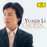 chopin: scherzi; impromptus - yundi li