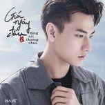 gia ngay dau dung noi thuong nhau (single) - isaac