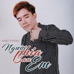 nguoi phia sau em (single) - nhat phong