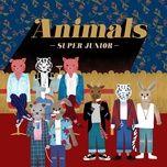animals (single) - super junior