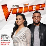 when you believe (the voice performance) (single) - angel bonilla