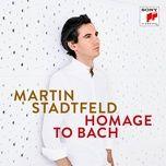 homage to bach - martin stadtfeld