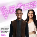 cold water (the voice performance) (single) - brandon showell
