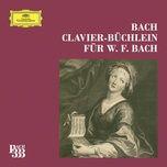 bach 333: wilhelm friedemann bach klavierbuchlein complete - v.a