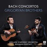 bach concertos - grigoryan brothers