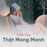 tinh yeu that mong manh - v.a
