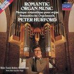 romantic organ music - peter hurford