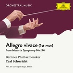mozart: symphony no. 34 in c, kv 338: i. allegro vivace (single) - berliner philharmoniker