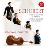schubert: string quartet, d. 887 & quartettsatze, d. 703 & d. 103 - stradivari quartett