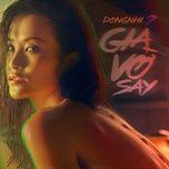 gia vo say (single) - dong nhi