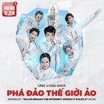 pha dao the gioi ao (inspired by ralph breaks the internet) (single) - uni5, han sara