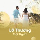 lo thuong mot nguoi - v.a