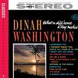 what a diff'rence a day makes! (bonus tracks) - dinah washington