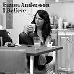 i believe (single) - emma andersson