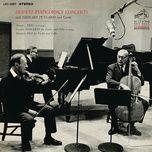 arensky: piano trio no. 1 in d minor & vivaldi: concerto in b-flat major & martinu: duo for violin and cello no. 1 (remastered) - gregor piatigorsky, jascha heifetz, leonard pennario, chamber orchestra, malcom hamilton