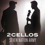 seven nation army (single) - 2cellos