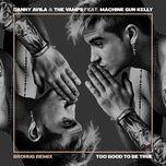 too good to be true (brohug remix) (single) - danny avila, the vamps, machine gun kelly